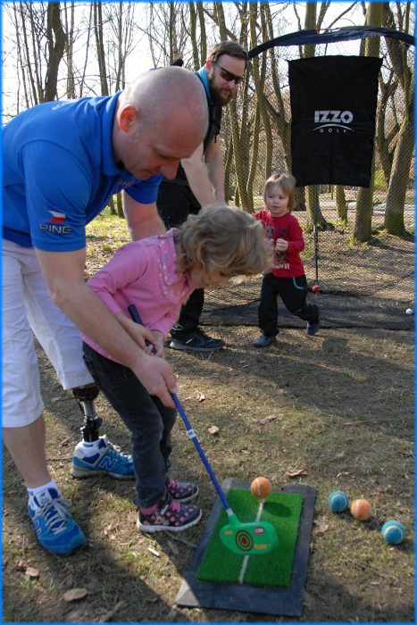 2. roÄŤnĂ­k RUN for ProCit - Minigolf - duben 2017